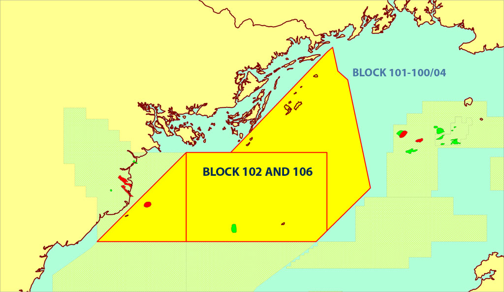 Vietnam Blocks 102 and 106